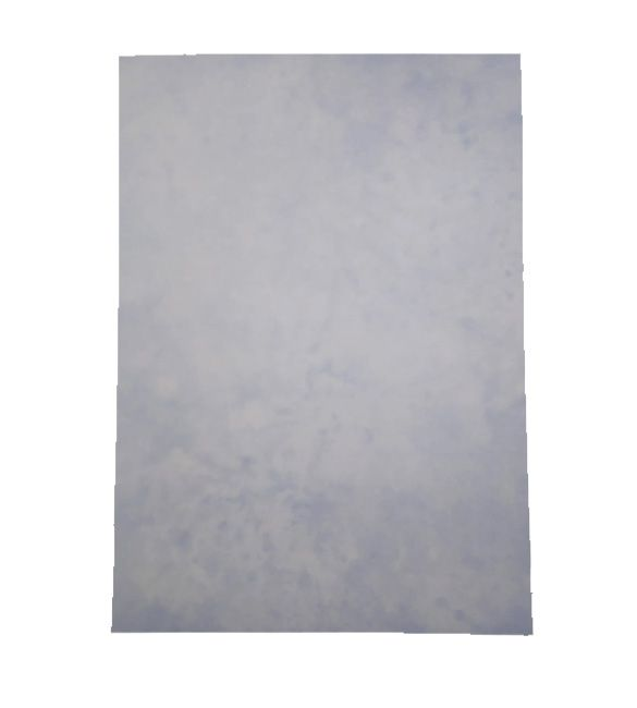 Papel Marmoreado Azul A4 - 170g