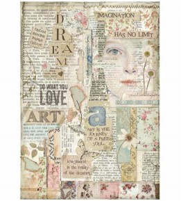 Papel de Arroz A4 - Love Art