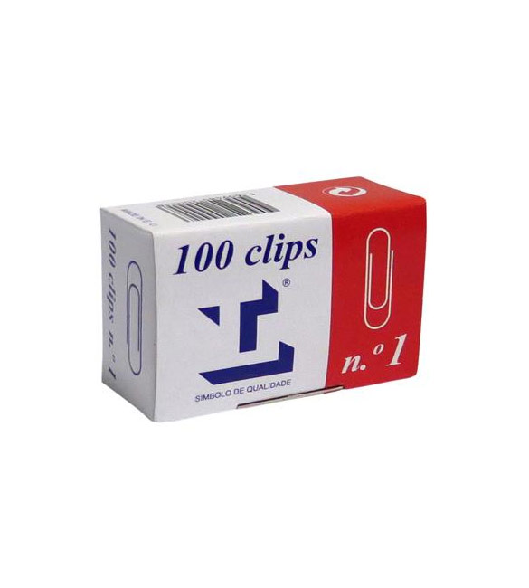 Caixa de 100 clips nº1