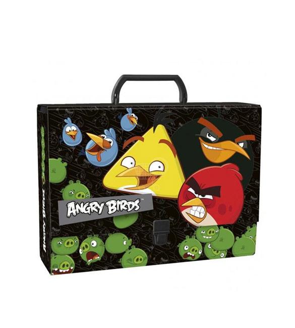 Mala Quadrada Angry Birds 33cm