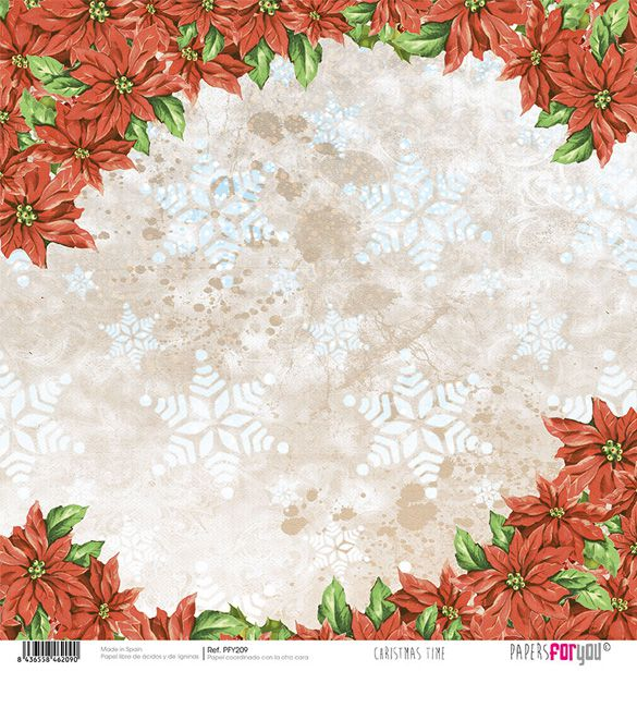 Papel Scrap Christmas Time 209