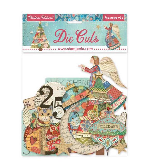 Die Cuts Natal - Christmas Patchwork