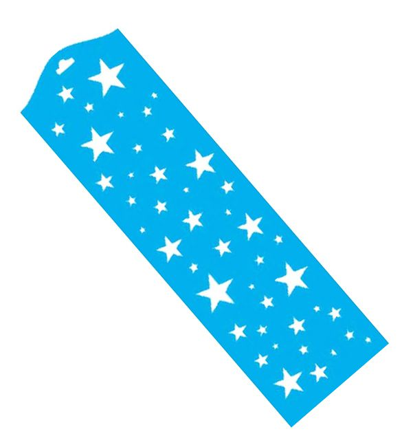 Stencil estrelas