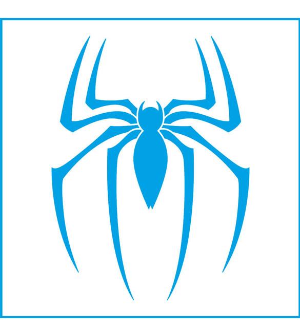 Stencil Super Herói Homem Aranha