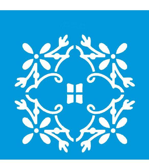 Stencil Azulejo