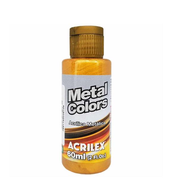 Tinta Acrílica Metálica Dourado Solar