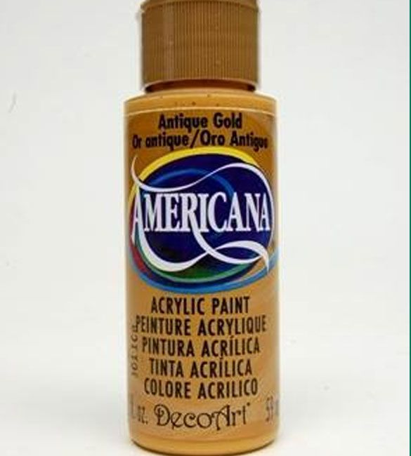 Tinta Americana  antique gold