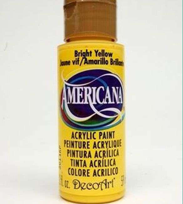 Tinta Americana bright yellow