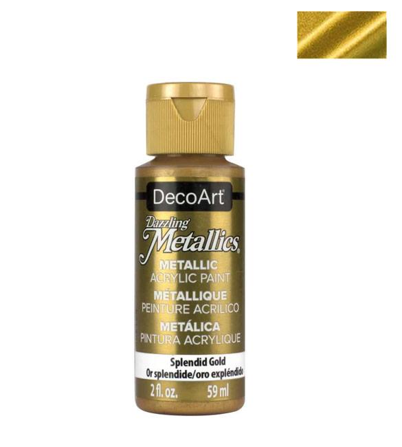 Tinta Decoart splendid gold Metálica