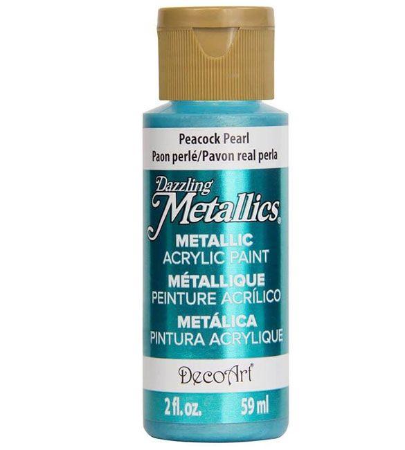 Tinta Decoart Peacock Pearl Metálica