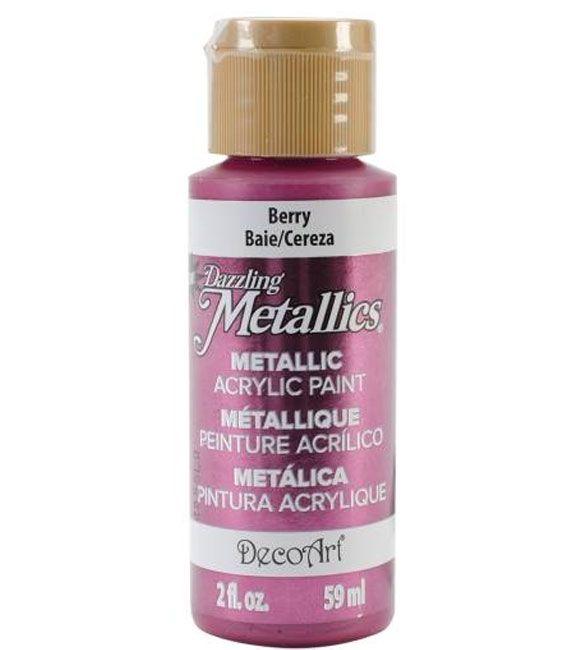 Tinta Decoart Berry Metalica