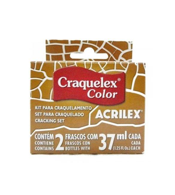 Craquele Acrilex Craquelex Color ocre ouro