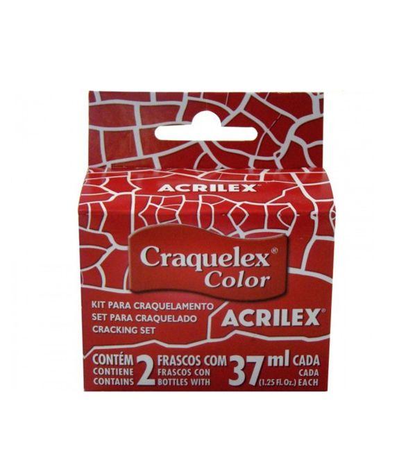Tinta Craquele Acrilex vermelho