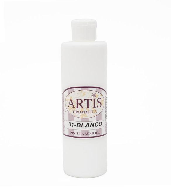 Tinta Acrílica 250ml Branca - Artis