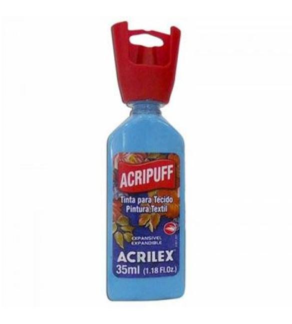 ACRIPUFF ACRILEX AZUL CARIBE