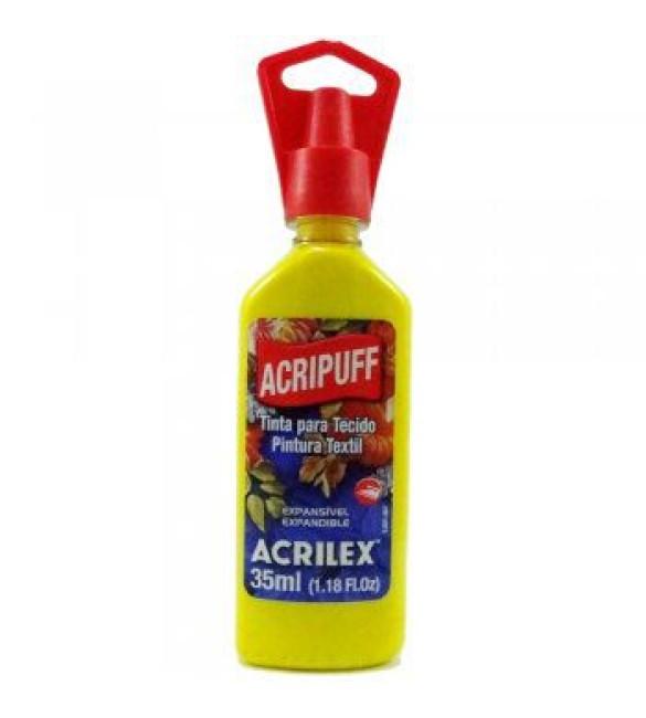 ACRIPUFF ACRILEX AMARELO OURO