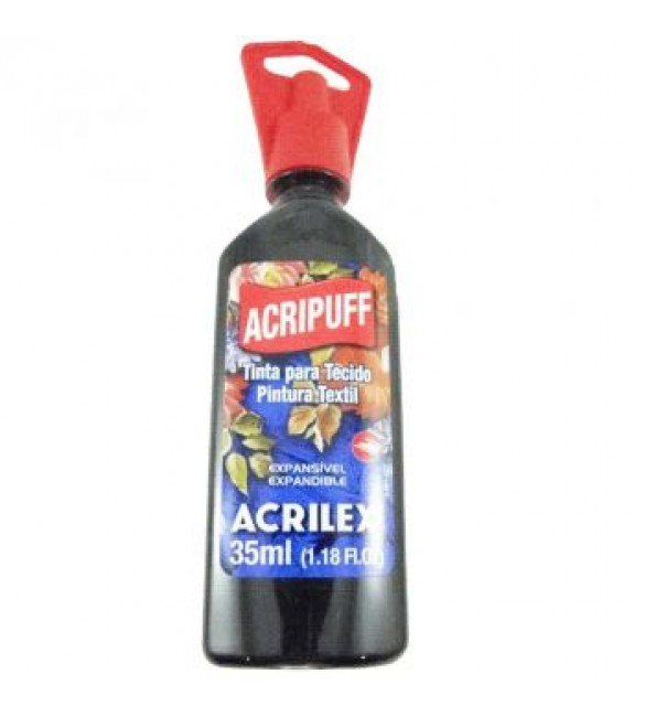 ACRIPUFF ACRILEX PRETO