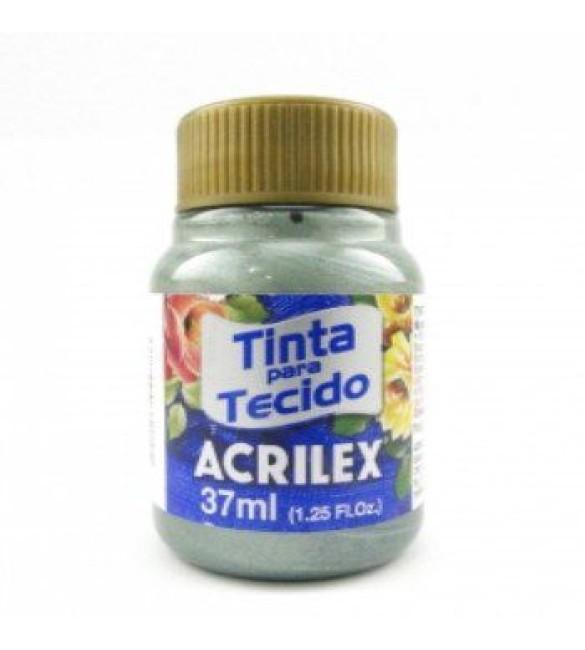 TINTA PARA TECIDO ACRILEX 37ML METAL