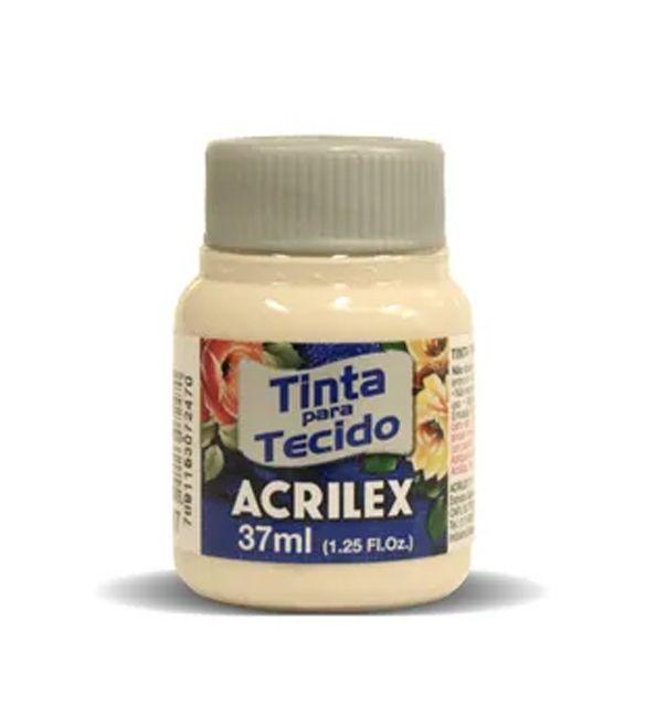 TINTA PARA TECIDO ACRILEX 37ML AREIA