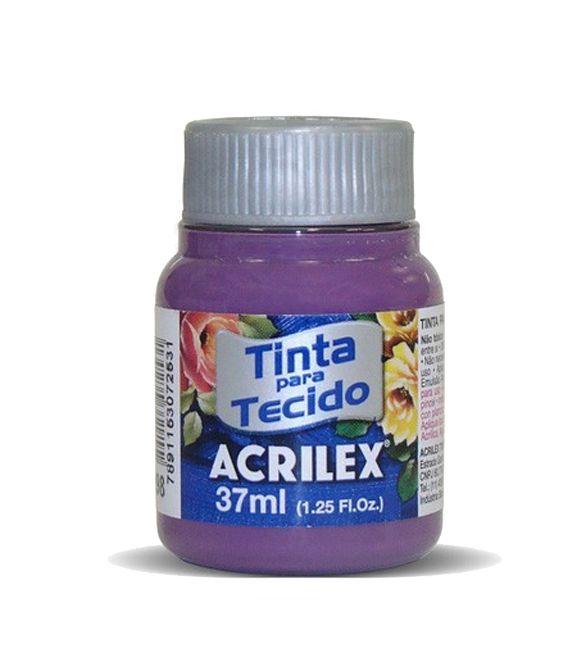 TINTA PARA TECIDO ACRILEX 37ML AMORA